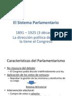 El Sistema Parlamentario Su Fin y La Constitucion de 1925