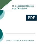 Medidas Tendencia Central Dispersión