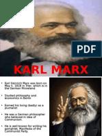 Final - Karl Marx