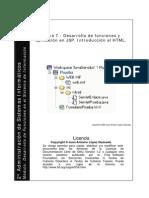 Tutorial Funciones en JSP y HTML