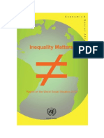 Inequality Matters Report