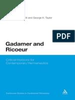 Ricoeur dan Gadamer on Hemeneutics.pdf