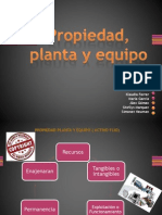 Propiedad, Planta y Equipo