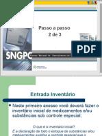 Manual de Implantação do Sistema Nacional de Gerenciamento de Produtos Controlados - PARTE 02