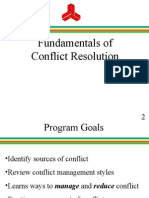 Conflict Resolution for APDS-ARCS Website