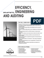 Energy Efficiency, Design, Engineering and Auditing
