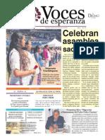 Voces de  Esperanza 09 de Noviembre de 2014