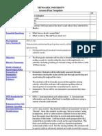 assessment basil lesson plan