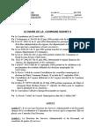 areté portant orgaisation de la Commune II    2009