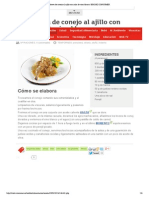 Receta de Conejo Al Ajillo Con Salsa de Vino Blanco _ EROSKI CONSUMER