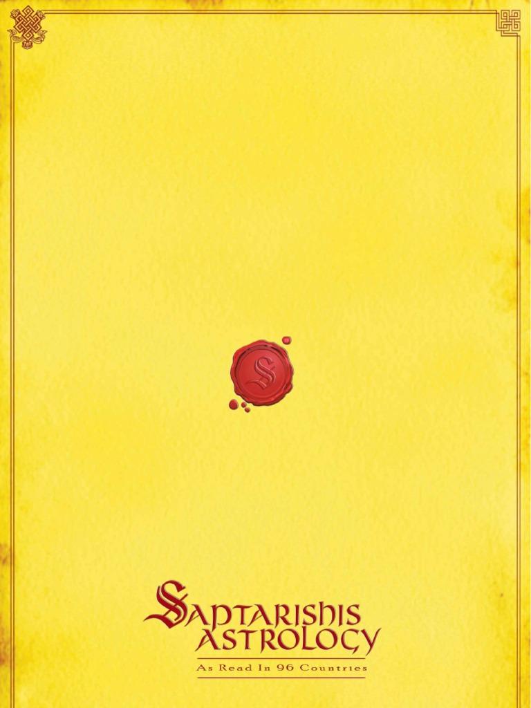 saptarishis astrology vol 7 dec 09 color full version planets in