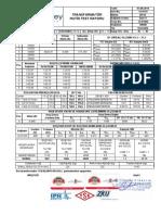 Özgüney BESE Transformatör Test Raporu 14-8179 400KVA 28,5-36KV 14-01900