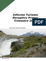 Informe Turismo Receptivo Primer Trimestre 2014