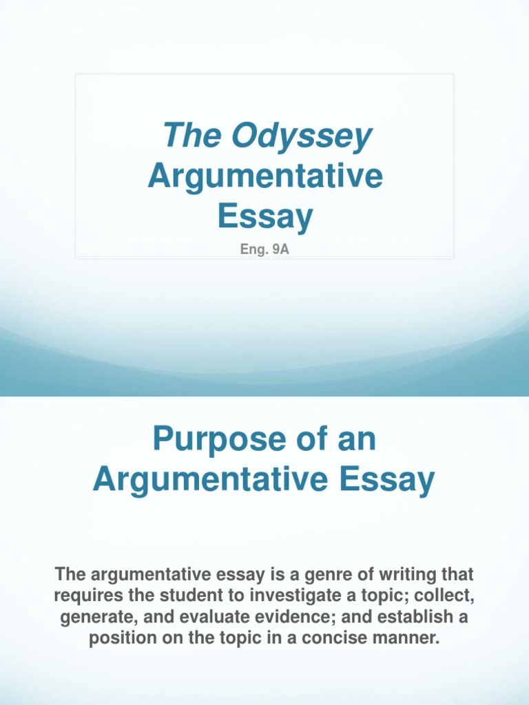 William And Mary Essay V What America Means To Me Essay also Topics For Persuasive Essays Argumentative Essay Theodyssey  Homer  Essays The Adventures Of Huckleberry Finn Analysis Essay