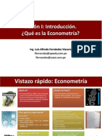 Introduccion a la econometria