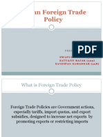 Group No 15 (Indian Foreign Trade Policy)