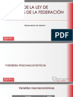Análisis de La LIF 2015