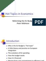 Reforming the EU Budget