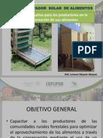 Deshidratador Solar de Alimentos