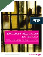 Paraguayas, Esclavas Sexuales en España