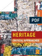 Critical Heritage Study