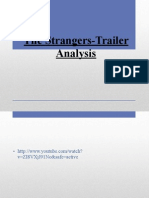 The Stangers Trailer Analysis
