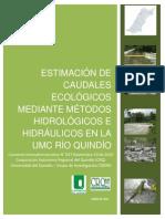 Estimacion Caudales Ecologicos UMC Rio Quindio