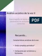 Analisis Acustico Voz