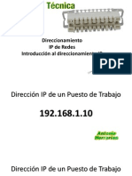 Presentación Direccionamiento IP
