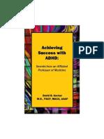 Achievig Success With Adhd