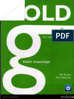 Gold First Exam Maximiser Workbook