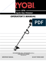 875r 4-Cycle Gas Trimmer
