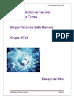 Ensayo TICs Miryam