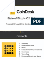 CoinDesk State of Bitcoin Q2 2014