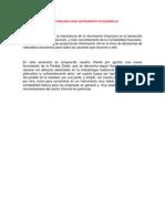 contabilidad como instrumento de desarrollo