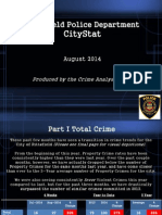 Pittsfield Aug. 2014 Police City Stat Report