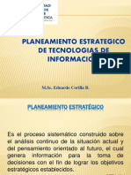 i. Introduccion Al Planeamiento Estrategico de Tecnologias de La Informacion