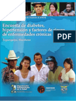 Encuesta de Diabetes, Hipertension y Factores de Riesgo