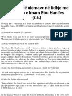 Qëndrimet të ulemave në lidhje me statusin e Imam Ebu Hanifes (r.a.)