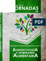 JORNADAS AGROECOLOGIA Y SOBERANIA ALIMENTARIA