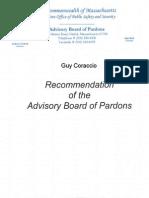 Guy Coraccio Pardon Packet
