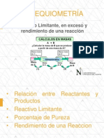ESTEQUIOMETRÍA - Reactivo Limitante-2