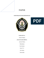 Paper Komunikasi Dasar Keperawatan Copy