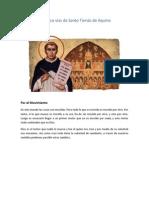 5 Vias de Santo Tomas de Aquino