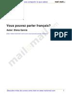Vous Pouvez Parler Français 13318