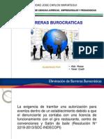 Barrera Burocratica