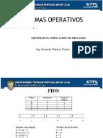 Ejemplos de Planificación de Procesos