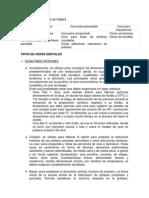 Clasificación de Las Cera