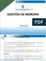 Gestion de Memoria Virtual