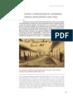 KENNEDY a.-valoracion y Conservacion Del Patrimonio Ecuatoriano